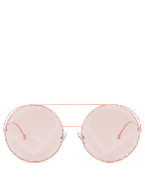 0288c0cb4ff8 FENDI Run Away Round Sunglasses Women s ...