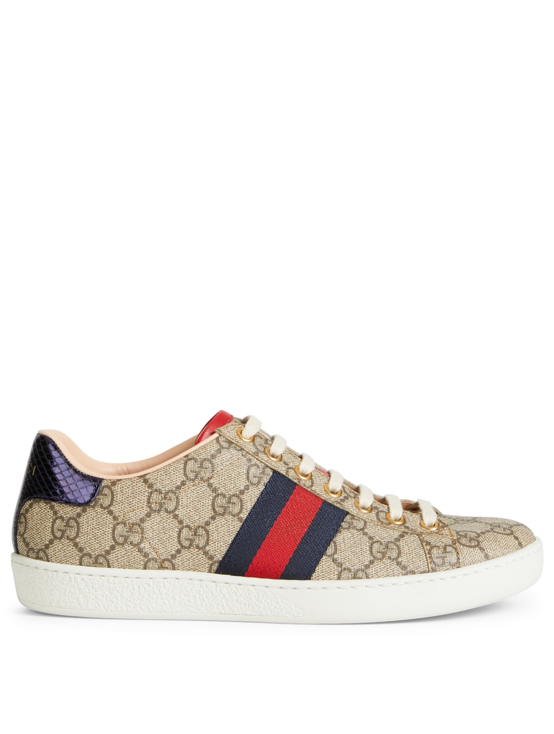 6e27f1a3d6a GUCCI Ace GG Supreme Sneakers Womens Neutral ...