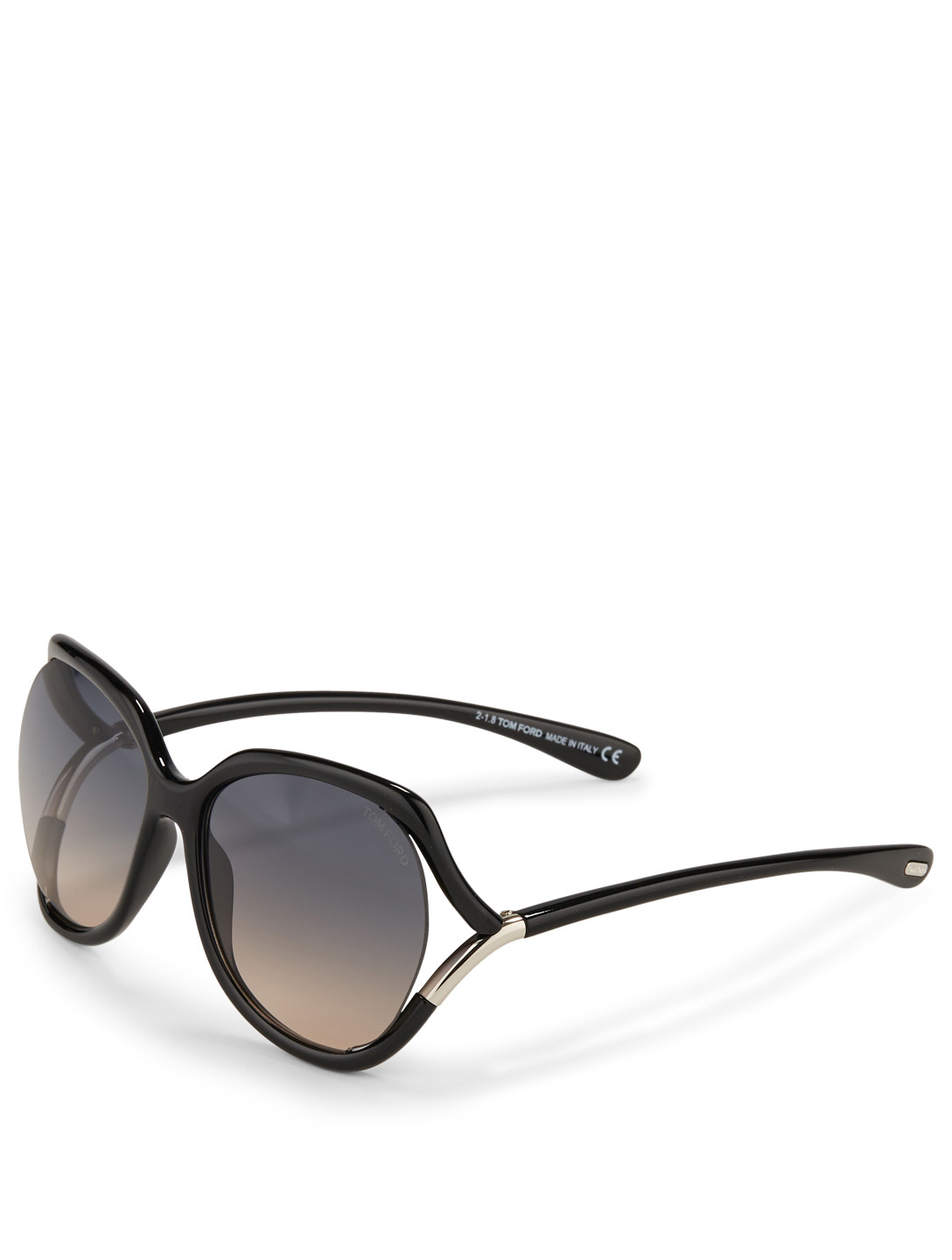 TOM FORD Anouk Square Sunglasses Women's Black
