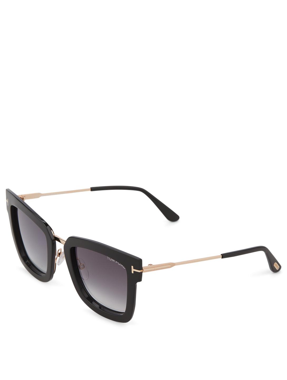 4529abdc78 ... TOM FORD Lara Square Sunglasses Women s Black