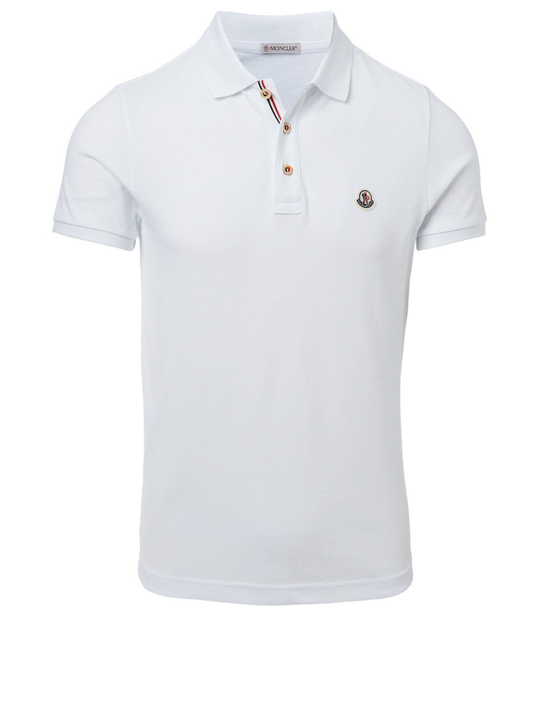MONCLER Polo Hommes Blanc