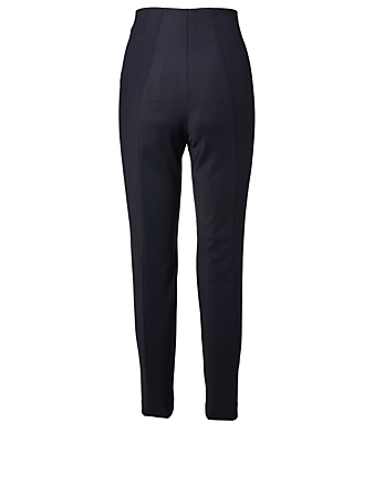 AKRIS Melissa Techno Stretch Pants Women's Blue