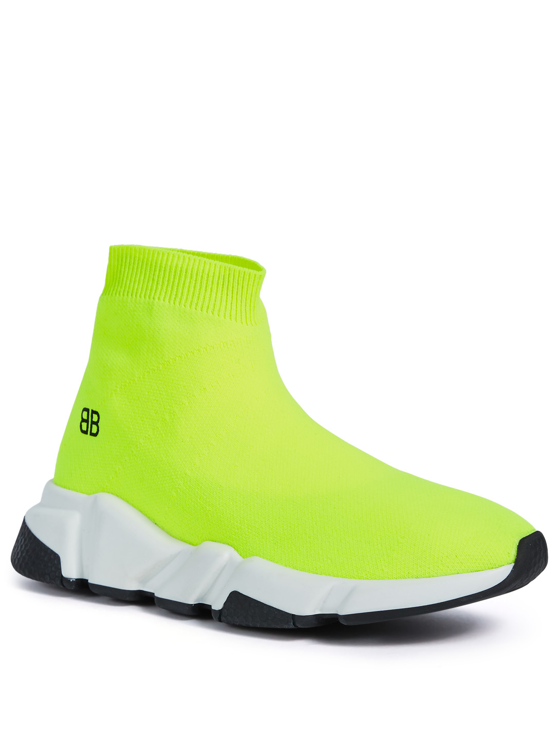 7cb57067006f ... BALENCIAGA Kids Speed High-Top Sneakers Kids Yellow ...