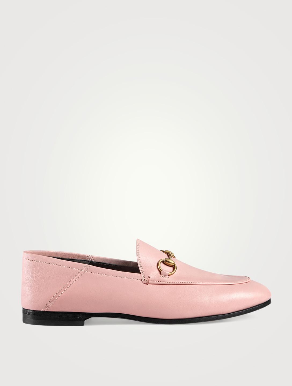 02e193b8c43 GUCCI Brixton Leather Loafers