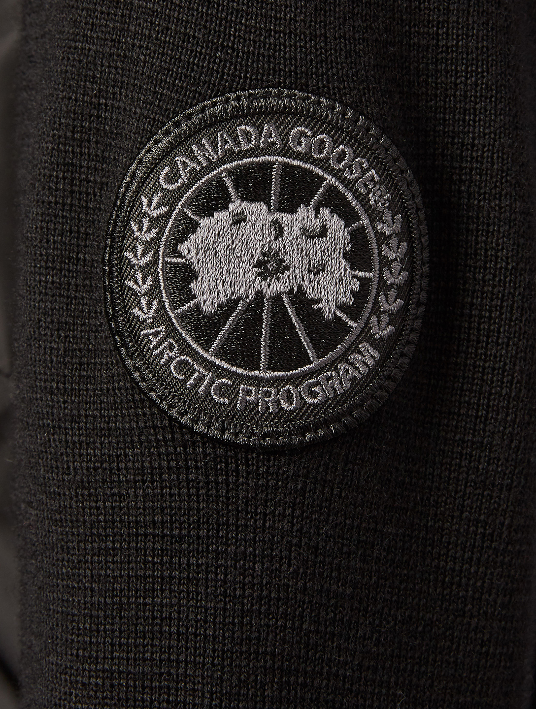 CANADA GOOSE WindBridge Zip-Up Sweater Designers Black