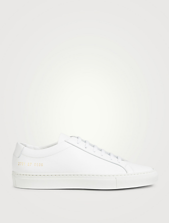COMMON PROJECTS Sneakers Original Achilles en cuir Femmes Blanc
