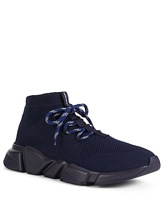 7a26670cf161 ... BALENCIAGA Speed Lace-Up Sock Sneakers Men s Blue ...