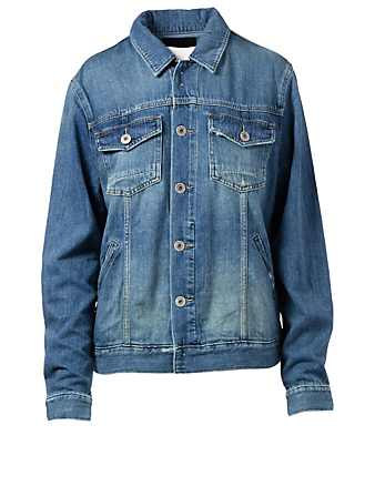 PAIGE Scout Denim Jacket Men's Blue
