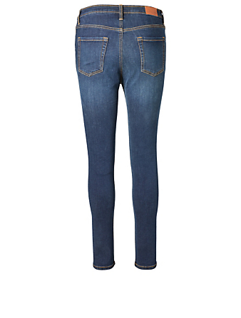 OUTLAND DENIM Harriet High-Rise Skinny Jeans H Project Blue