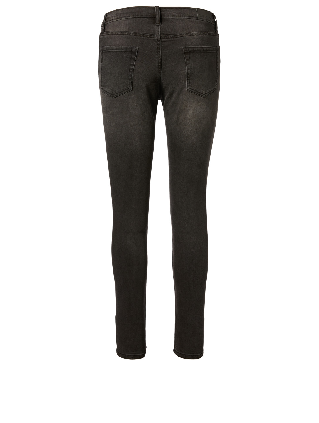 OUTLAND DENIM Isabel Mid-Rise Skinny Jeans H Project Black