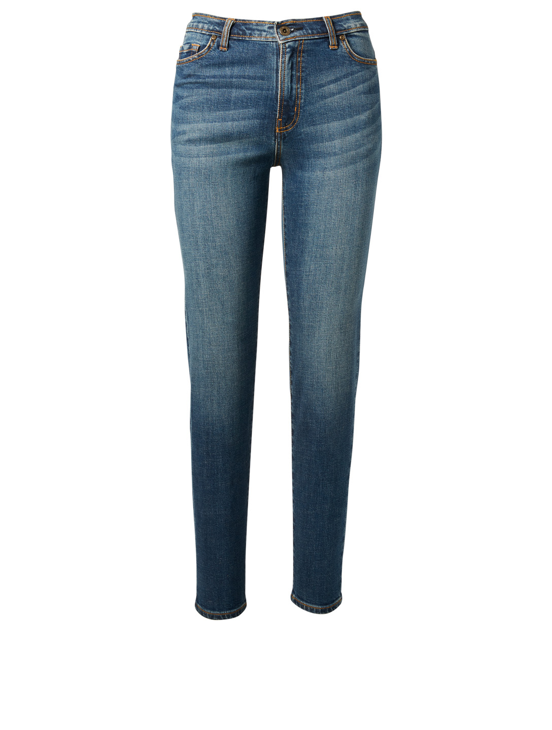 OUTLAND DENIM Lucy High-Rise Cigarette Jeans H Project Blue
