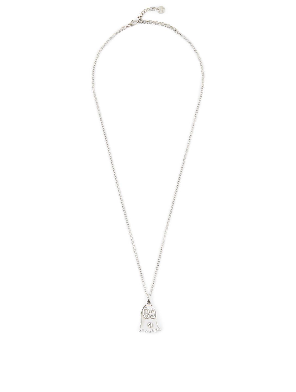 54cdd5cbfa0 GUCCI GucciGhost Sterling Silver Necklace