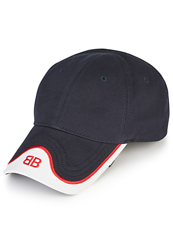 BALENCIAGA Mode Cap With BB Logo Men's Blue