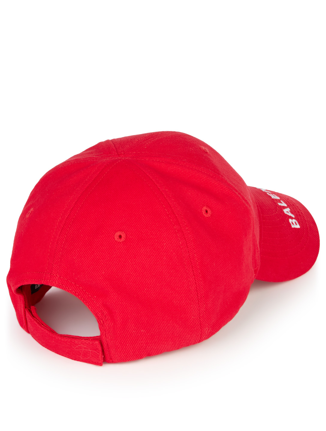 BALENCIAGA Mode Cap With Logo Men's Red
