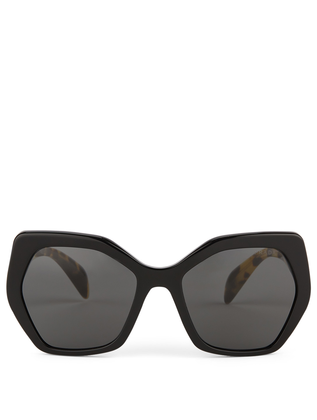 PRADA Hexagonal Sunglasses Designers Grey