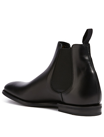 CHURCH'S Prenton Leather Chelsea Boots Men's Black