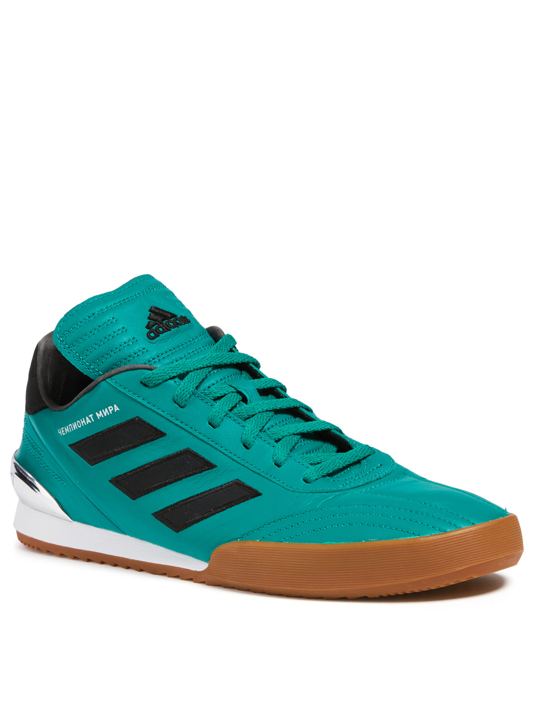 buy popular 24de5 31fa6 ... GOSHA Gosha Rubchinskiy x Adidas Copa WC Leather Sneakers Mens Green  ...