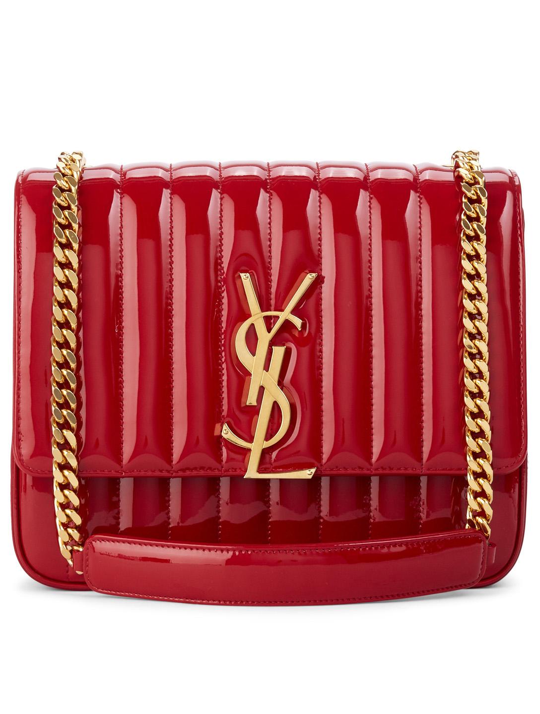 f0eda7302979 Large Monogram Vicky Patent Leather Chain Bag Crossbody Bags. Mini Bucket  Bag 725 Holt Renfrew