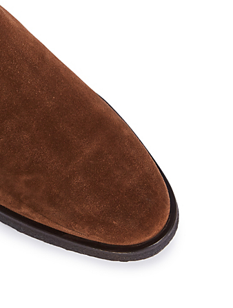 COMMON PROJECTS Suede Chelsea Boots Men's Brown