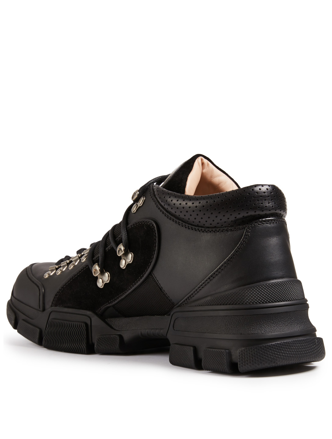 GUCCI Flashtrek Sneakers Men's Black