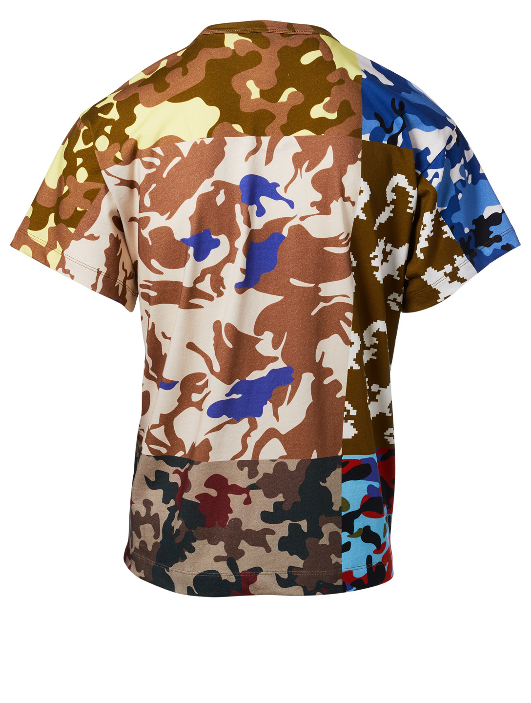 GOSHA Cotton Camo T-Shirt Men's Multi