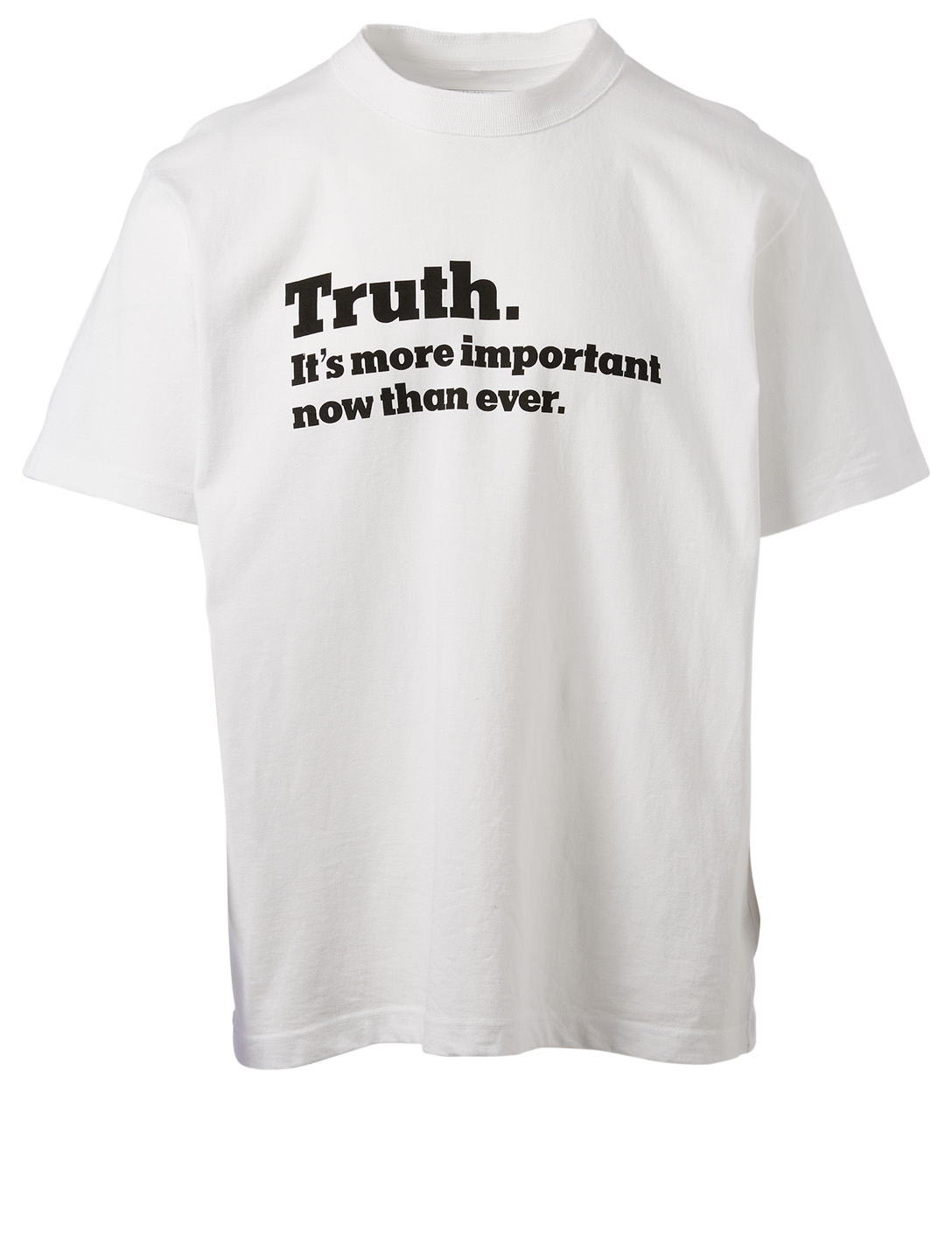 SACAI Truth T-Shirt Men's White