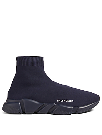 BALENCIAGA Speed High-Top Sock Sneakers Designers Blue