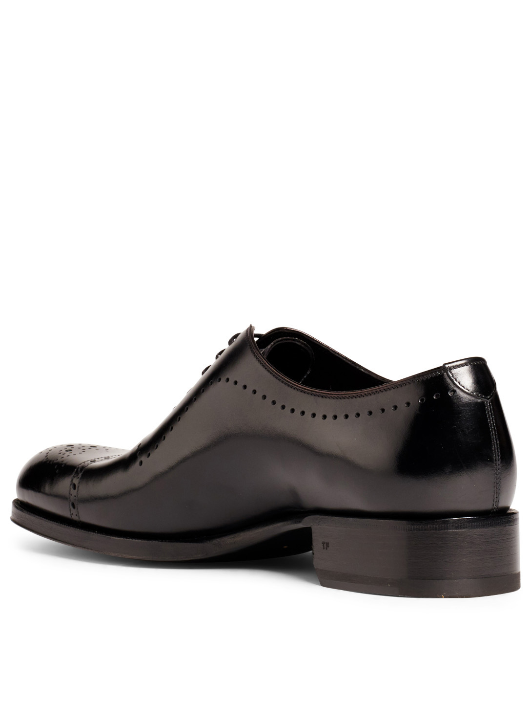 TOM FORD Edgar Leather Brogues Men's Black