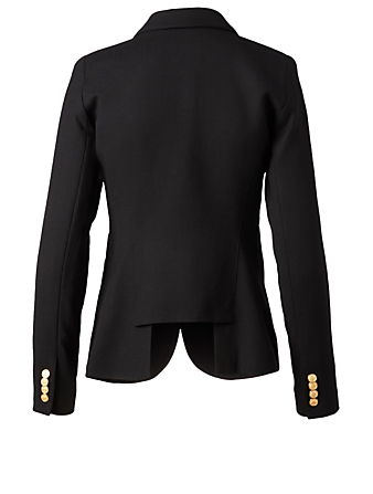 SMYTHE Duchess Wool Blazer Women's Black