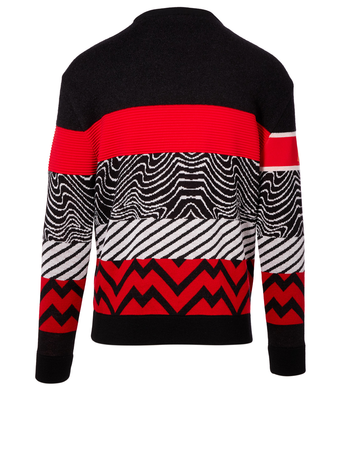GIVENCHY Wool And Mohair Sweater In Mixed Print Men's Multi