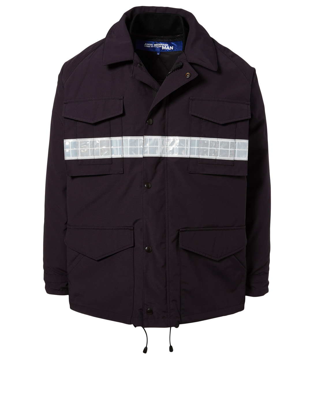 CDG JUNYA WATANABE Junya Watanabe x Canada Goose Down Jacket With Reflective Stripe Men's Blue
