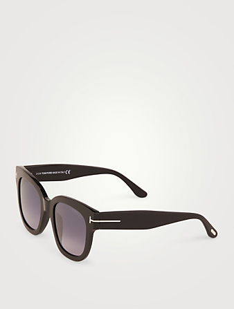 TOM FORD Beatrix Square Sunglasses Women's Black