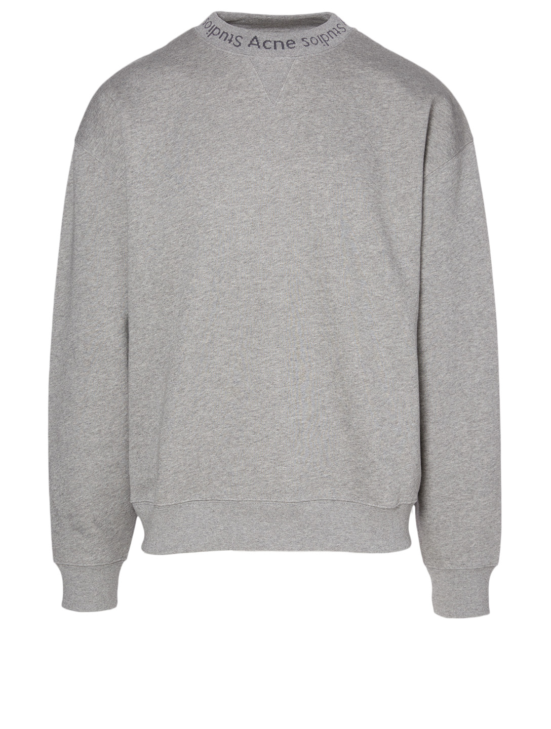 ACNE STUDIOS Flogho Sweatshirt Men's Grey