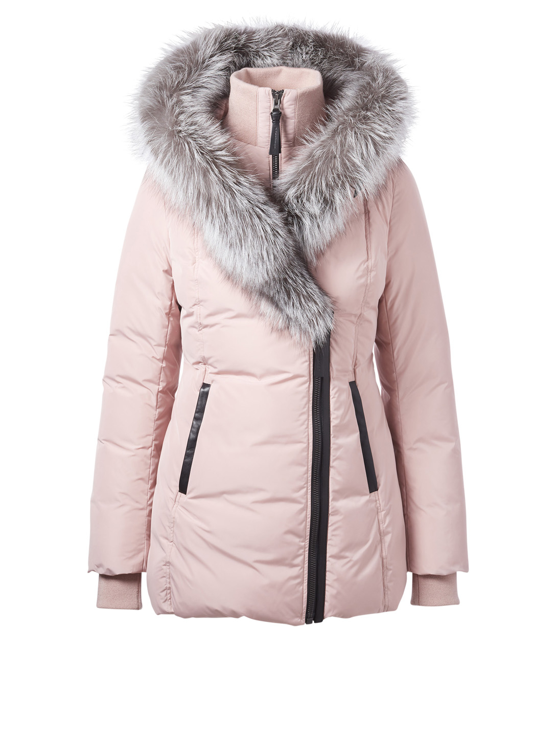 MACKAGE Adali-X Down Coat With Fur Hood Womens Pink