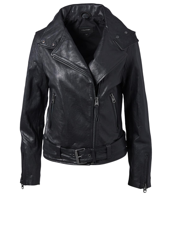 Emily Leather Moto Jacket Leather Jackets Holt Renfrew
