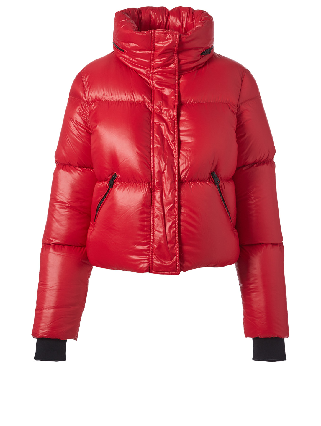 MACKAGE Mimi Down Puffer Jacket Designers Red