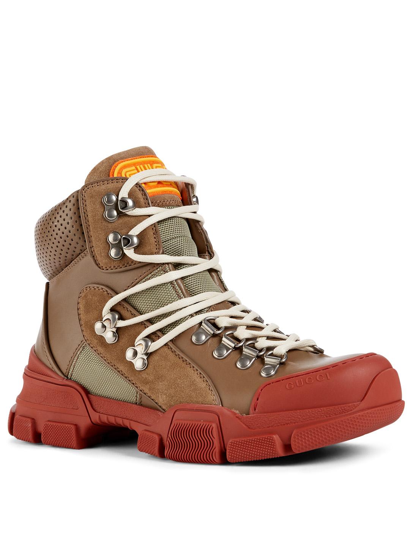 fffc0901b7f9e ... GUCCI Flashtrek Hiker Boots Women s Neutral ...