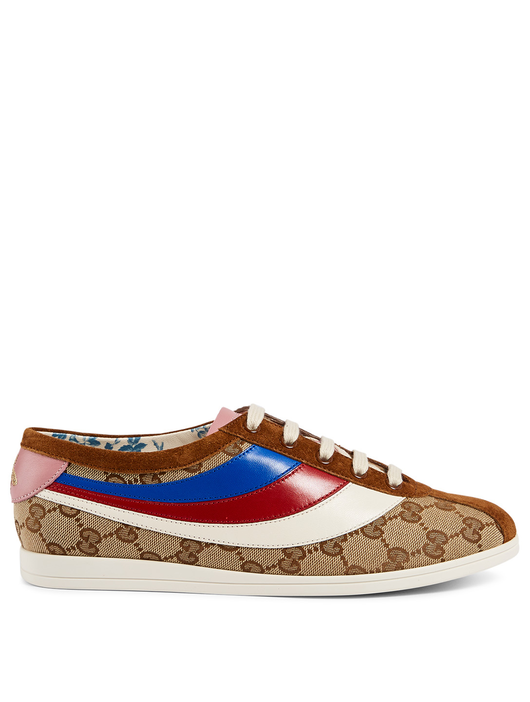 c6b83eefb6a GUCCI Falacer GG Canvas Sneakers Womens Neutral ...