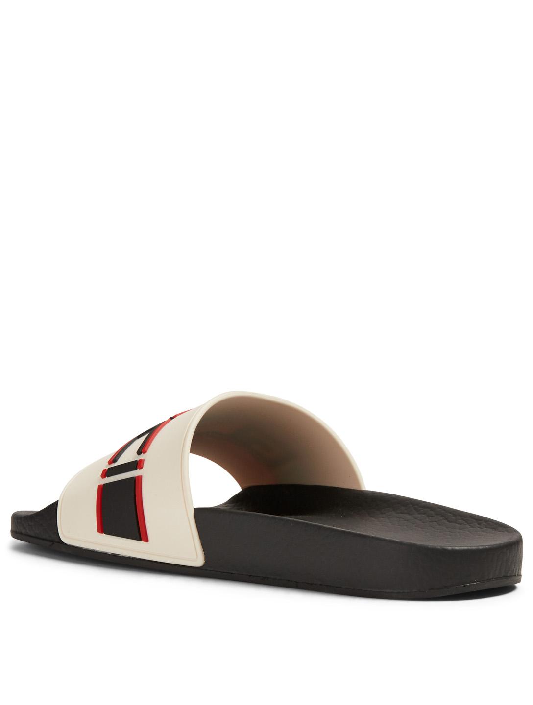 GUCCI Pursuit Pool Slides With Logo Strap Women's Red