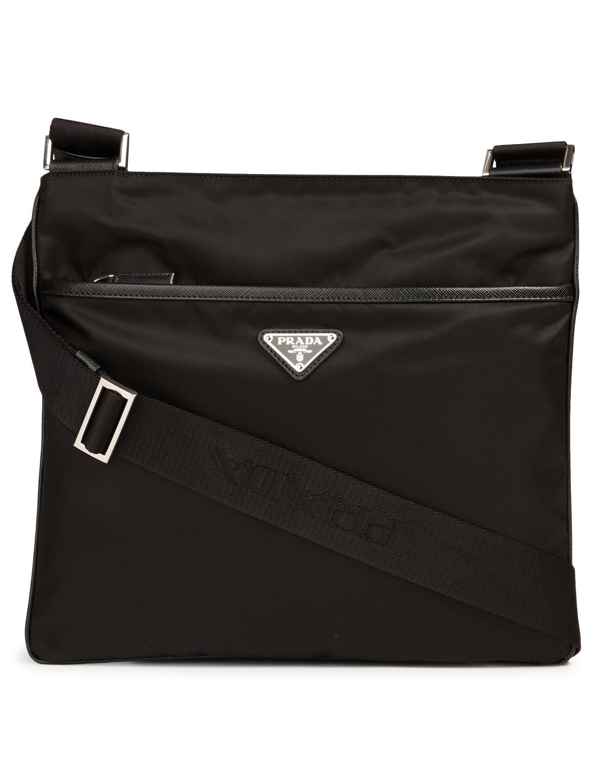 29b02408684ba5 PRADA Nylon Logo Messenger Bag | Holt Renfrew