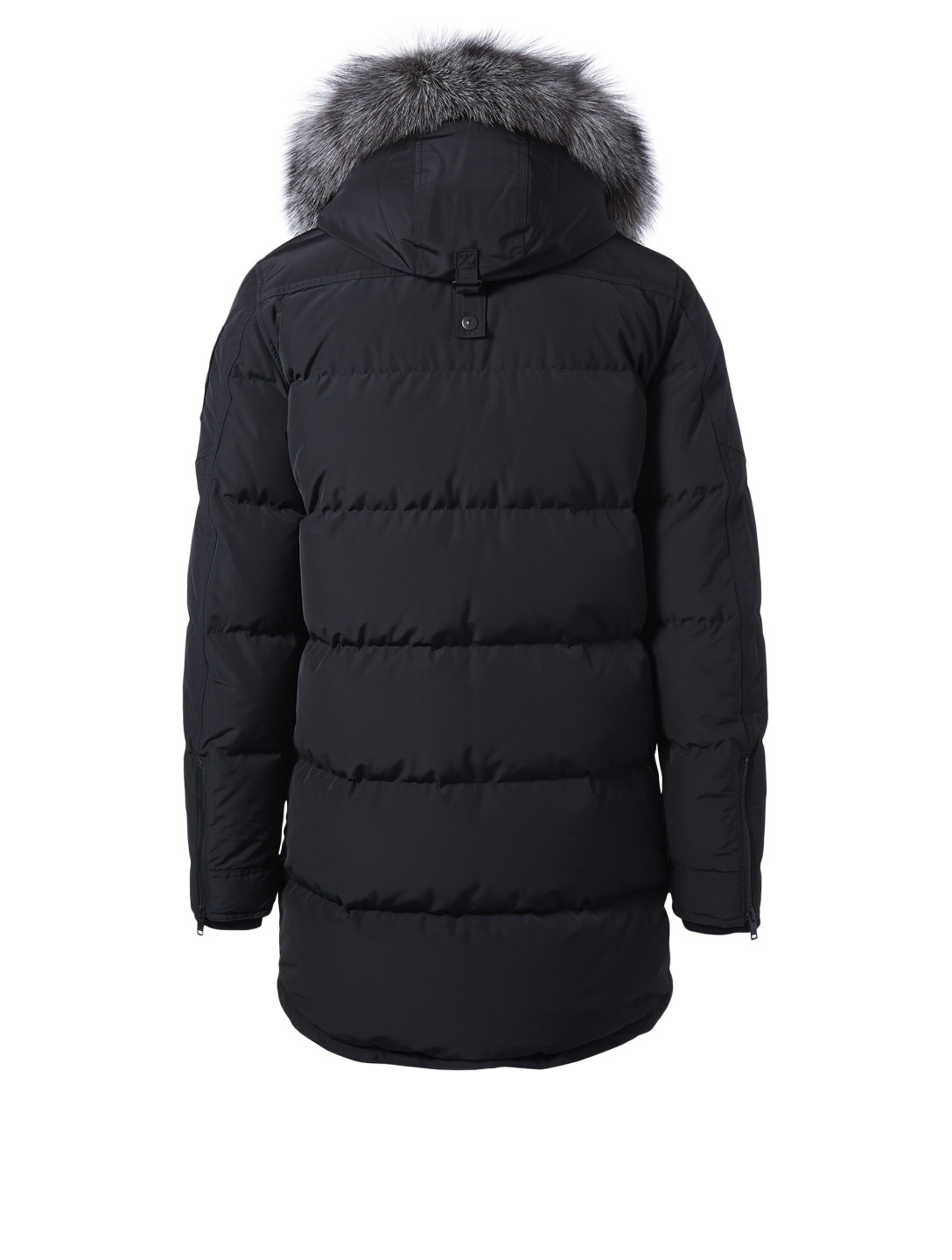 MOOSE KNUCKLES Westgore Ontario Parka With Fur Trim Men's Black