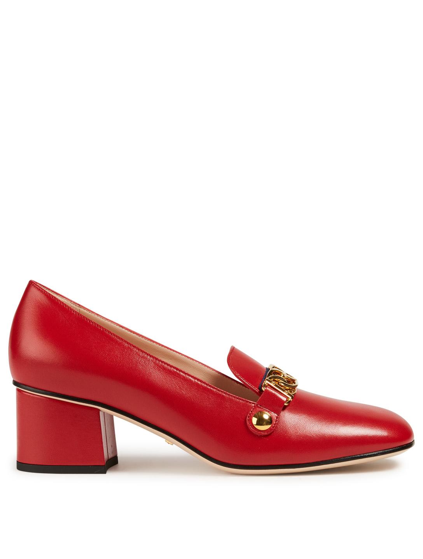 1668083d197c GUCCI Sylvie Classic Leather Pumps Women s ...
