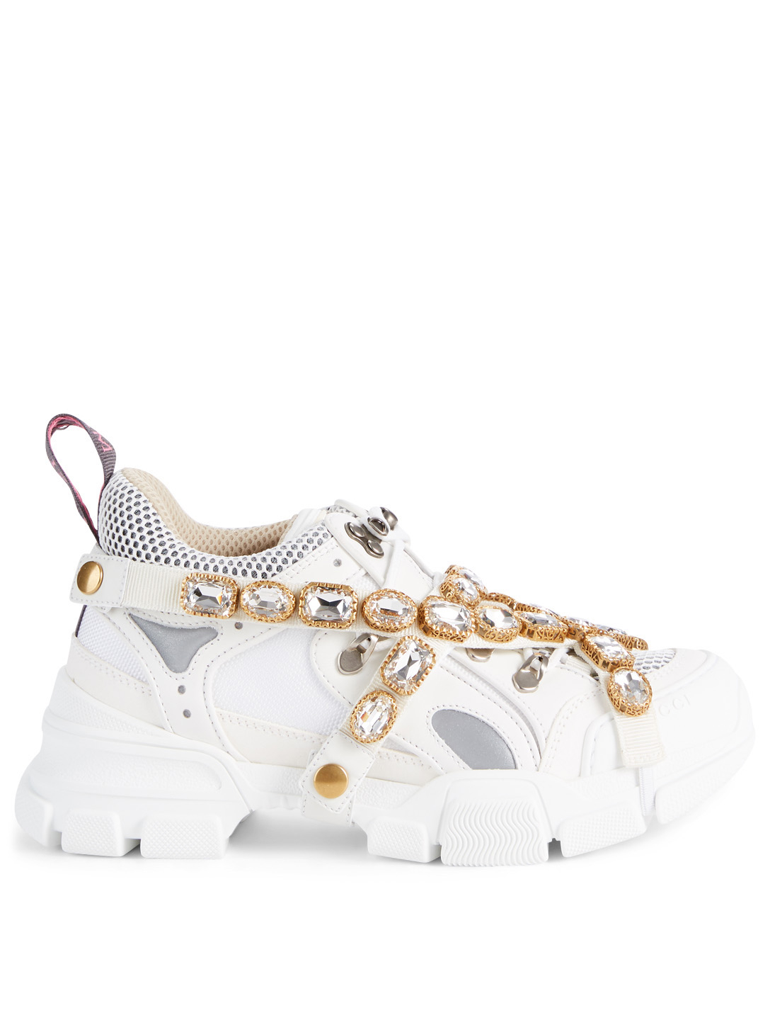 399651f59 GUCCI Flashtrek Sneakers With Removable Crystal Straps