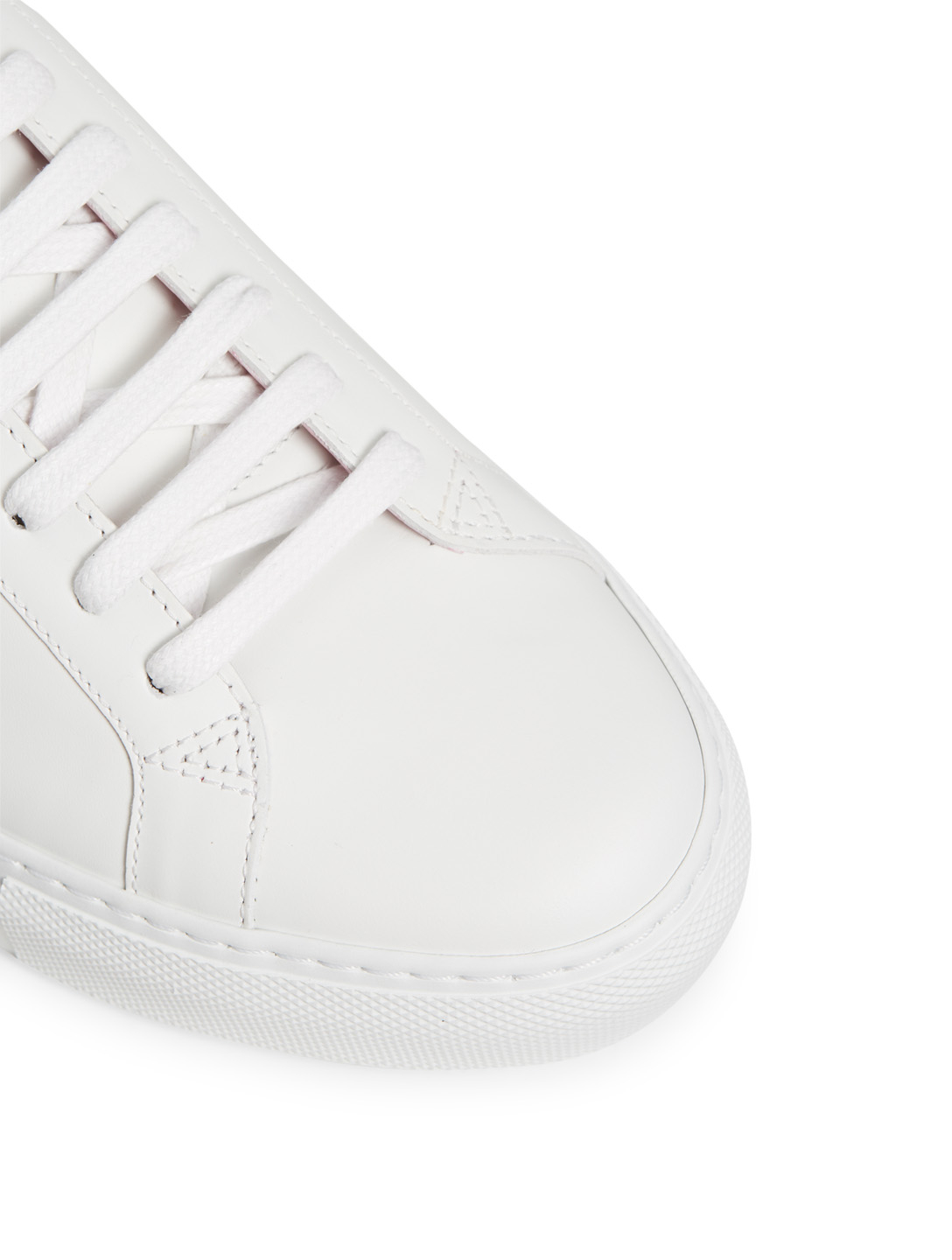 GIVENCHY Urban Street Leather Sneakers Women's White