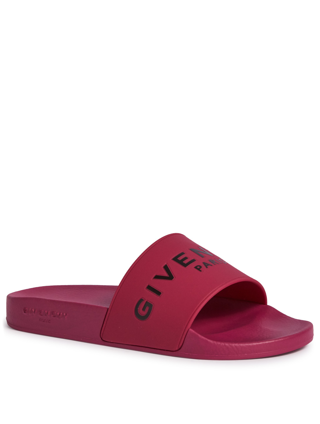 012abb094602e3 ... GIVENCHY Givenchy Paris Rubber Slides Womens Pink ...