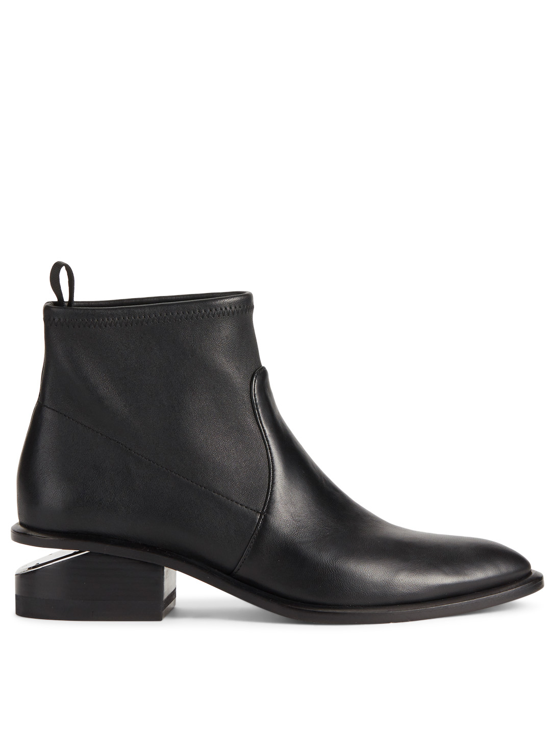 3b49314f03661d ALEXANDER WANG Kori Stretch Leather Ankle Boots