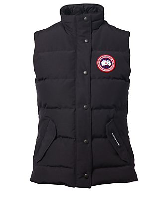 CANADA GOOSE Freestyle Down Puffer Vest Women's Blue