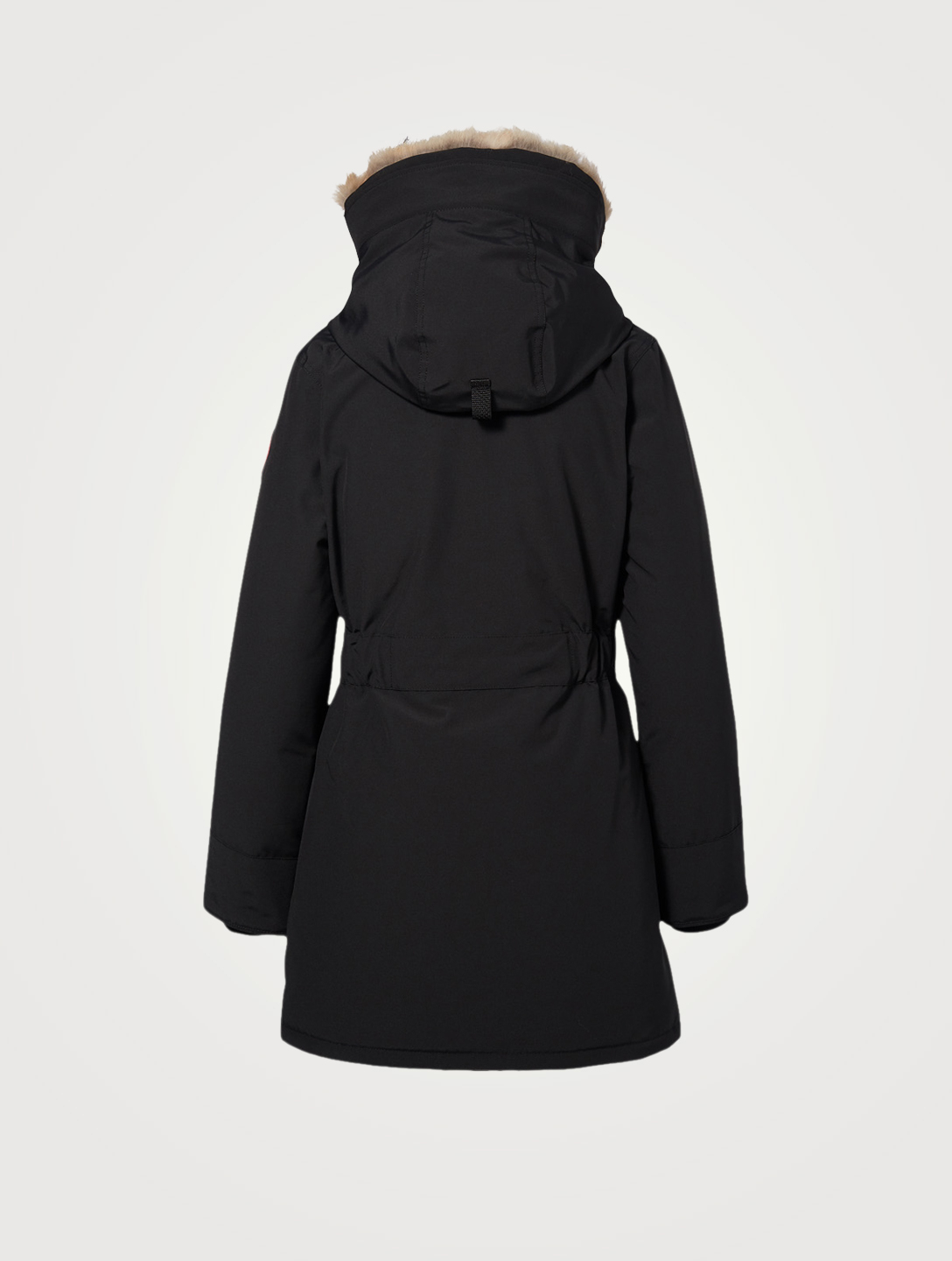 CANADA GOOSE Trillium Down Parka With Fur Hood Women's Black