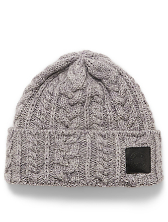 CANADA GOOSE Wool Cable-Knit Toque Women's Grey