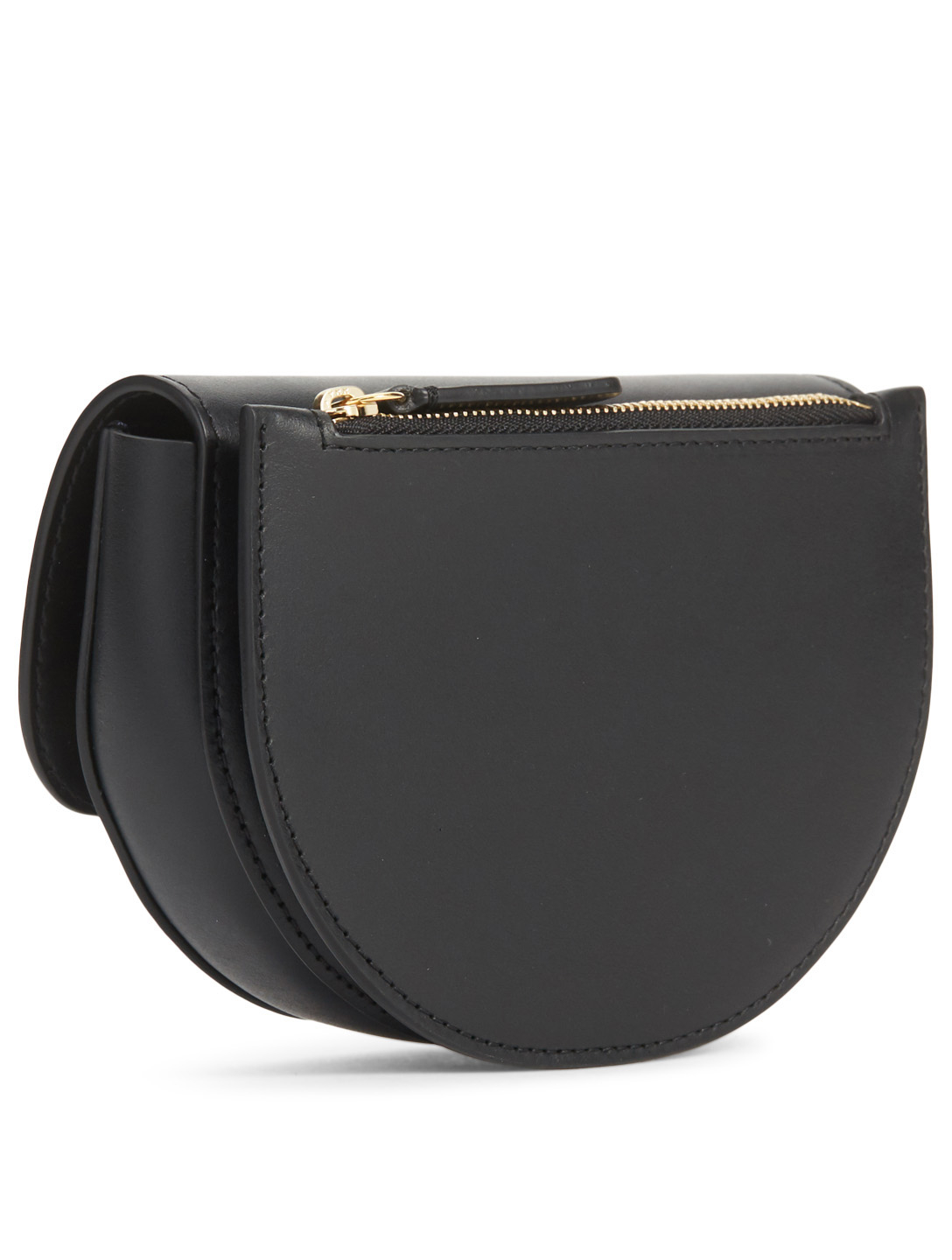 WANDLER Anna Leather Belt Bag Womens Black